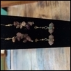 Amethyst Fishhook Earrings