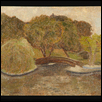 "LOOSE PARK WITH WEEPING WILLOW -- Artist: Preston Hereford Size: 6"" x 8"" Medium: Oil Price: $60.00"