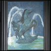 "NOCTURNAL KNIGHT -- Artist: Carole Roemer Size: 11"" x 14"" Medium: Oil Price: $250.00"