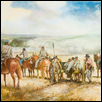 "CONFEDERATES ADVANCING -- Artist: Ernst Ulmer (1922-2009) Size: 22"" x 15"" Price: $2,560.00"