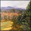 "MAINE IN FALL -- Artist: Norma Greenleaf Size: 16"" x 12"" Price: $250.00"