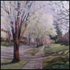 "PERFECTLY PEARED -- Artist: Marcia Willman Size: 15"" x 11"" Price: $454.00"