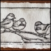 Chickadees Three
