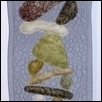 "FINDING BALANCE -- Artist: Leslie Campbell Size: 10.5"" x 42"" Price: $175.00"