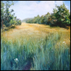 "A PEACEFUL WALK -- Artist: Carol Rubsam Size: 18"" x 14"" Price: $350.00"