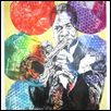 "LOUIS ARMSTRONG -- Artist: Anthony High Size: 18"" x 24"" Price: $800.00"