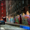 "STREETSCAPES- WEST BOTTOMS -- Artist: Linda Teeter Size: 22"" x 28"" Price: $425.00"