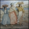 Three Fishwives From Lisbon Portugal