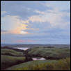 "SUNSET ON THE BIG BLUE -- Artist: Larry DeGraff Size: 16"" x 12"" Price: $900.00"