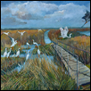 "CHEYENNE WETLANDS -- Artist: David Cooper Size: 24"" x 18"" Price: $800.00"