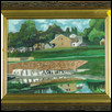 "MONTGALL AND EMANUEL CLEAVER -- Artist: David Cooper Size: 8"" x 10"" Medium: Oil Price: $150.00"