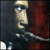 "COLTRANE -- Artist: George Mayfield Size: 24"" x 30"" Price: --SOLD--$2,000.00"