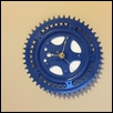 BLUE GEARS -- Artist: Eric Vaughan Size: 8x8 Price: $160.00