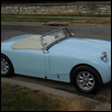 Powder Blue Car