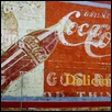 "COKE ON THE WALL -- Artist: Dick Stine Size: 20"" x 24"" Price: $250.00"