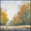 "ENDLESS ROAD, FLINT HILLS -- Artist: Darla Zook Size: 13"" x 10"" Medium: Watercolor Price: $285.00"