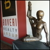 Bronze Sculpture Dancer 4.5'