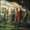 "NIGHT FAIR NO. 10 -- Artist: Mark Kielkucki Size: 24"" x 18"" Price: $700.00"