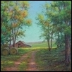 "THE OLD BARN -- Artist: Jean Terry Size: 14"" x 11"" Medium: Pastel Price: $375.00"