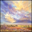 "EVENING WANDERING -- Artist:   Size: 26"" x 26"" Price: $750.00"