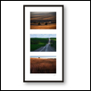 "LAND OF MY FATHERS TRIPTYCH -- Artist: Mark Feiden Size: 14"" x 26"" Price: $200.00"