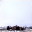 Kansas Barn in Winter