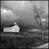 "SCHOOLHOUSE -- Artist: Rod Mikinski Size: 30"" x 20"" Price: SOLD"
