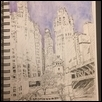 Chicago River sketch  1
