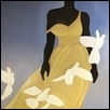 "WHITE DOVES -- Artist: Karrie Marie Baxley Size: 30"" x 36"" Price: $900.00"
