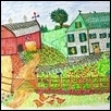 "SUMMER FARMYARDS -- Artist: John Junge Size: 7"" x 5"" Price: $150.00"