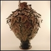 Autumn Maple Leaves Vase