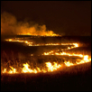 Flint Hills Night Burn