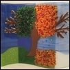 "TREE FOR ALL SEASONS -- Artist: Wanda Tyner Size: 15"" x 12.5"" Price: SOLD"