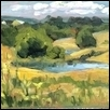 "HILL COUNTRY -- Artist: Jacqueline Smith Size: 8"" x 6"" Medium: Oil Price: $175.00 ***SOLD***"