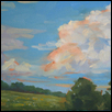 "SUMMER CLOUDS -- Artist: Jackie Smith Size: 16"" x 12"" Price: $350.00"