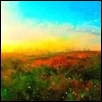 "SUNSET ON THE PLAINS -- Artist: Leah Lambart Size: 14"" x 11"" Price: $250.00 ***SOLD***"