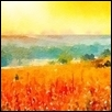 "ORANGE SKY IN MORNING -- Artist: Leah Lambart Size: 14"" x 11"" Price: $250.00"