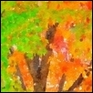 "MAPLES OF MAPLEWOODS TRAIL -- Artist: Leah Lambart Size: 14"" x 11"" Price: $250.00"