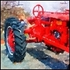 "OLD RED TRACTOR -- Artist: Leah Lambart Size: 11"" x 14"" Price: $250.00"