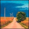 "A ROAD LESS TRAVELED -- Artist: Michele Seeley Size: 12"" x 12"" Price: SOLD"