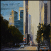 "CITY REFLECTIONS -- Artist: Kimbell McCurry Size: 9"" x 12"" Price: $700.00"