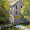 "OLD MILL -- Artist: Kimbell McCurry Size: 14""x18"" Price: $990.00"