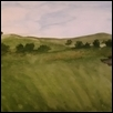 "DIMENSIONS OF FLINT HILLS -- Artist: Natalie Bommarito Size: 10.75"" x 7.5"" Price: $125.00"