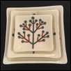 Set of 3 Tree of Life Nesting Plates