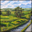 SUNLIT PATH -- Artist: Reagan Wesssel Size: 15'' x 30'' Price: $275.00 ***SOLD***