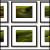 A Blanketed Landscape Hexaptych