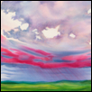 "GENTLE RAIN -- Artist: Diane Lawrence Size: 34"" x 25"" Price: $1,200.00"